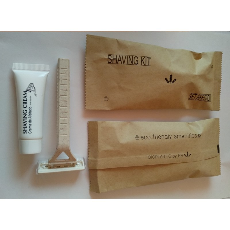 shaving kit with bio razor