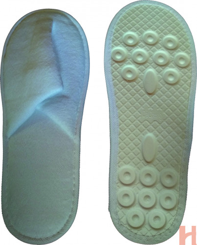 cotton upper and paper pulp sole