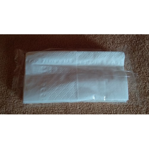 Celulose tissues in flow pack