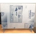 Coronavirus protective screen for hotel reception and counter
