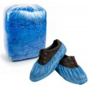 waterproof disposable plastic shoe covers- bag with packs of 100 units
