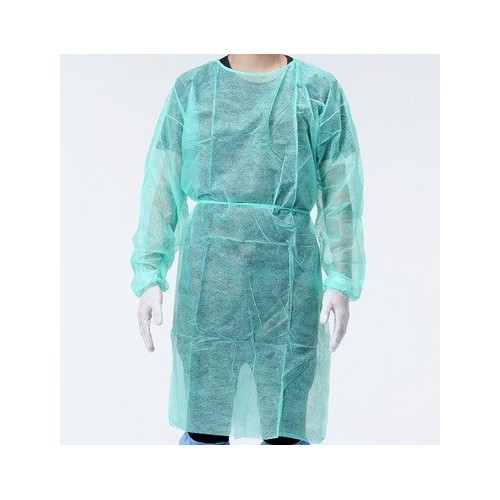 sur blouse jetable robe medical