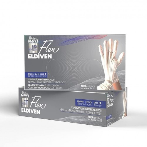 disposable gloves TPE- vinyl equivalent- powder-free- latex-free