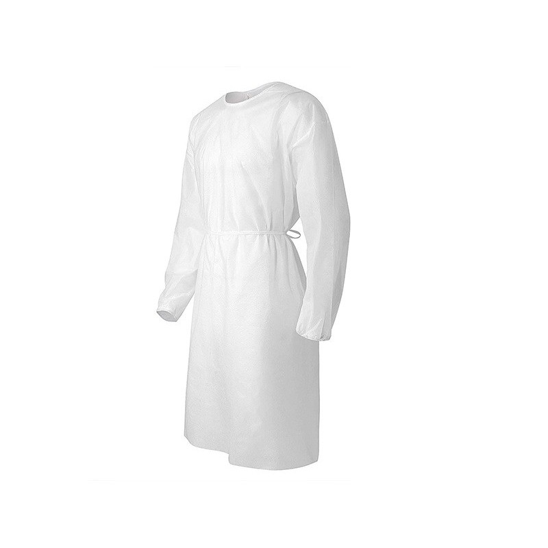 disposable gowns non-woven 55 gr waterproof