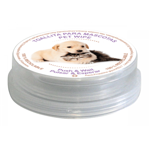 Wet wipes PushClean- special pets
