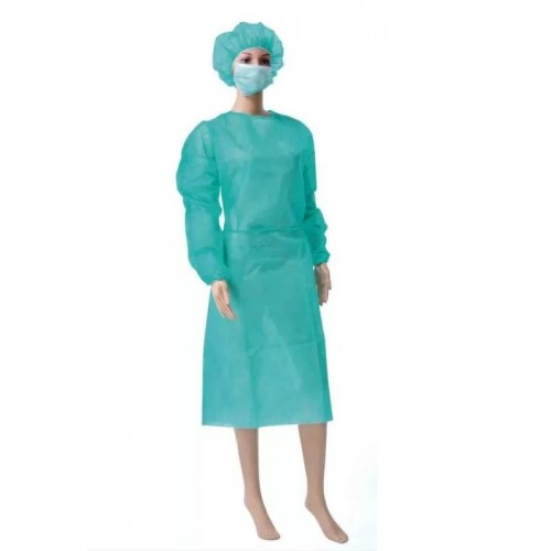 disposable gowns non-woven 25 gr- box of 120 gowns