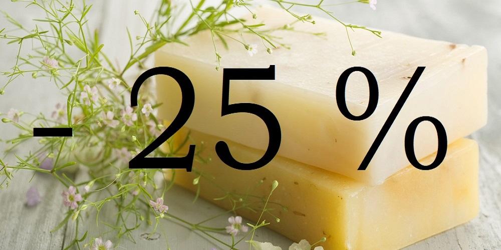 25% de Rebajas Rebaixas Rabais Amenities